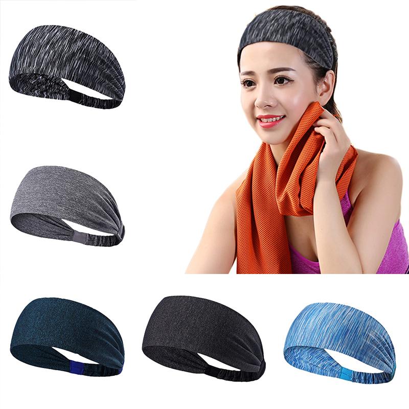 Damen Wide Elastisch Stirnband Haarband Haarschmuck Kopfschmuck Schweißband HOT