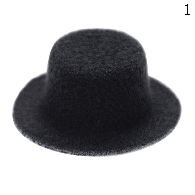Dollhouse Miniatures 1:12 Scale Top Hat Black #MUL5392BK