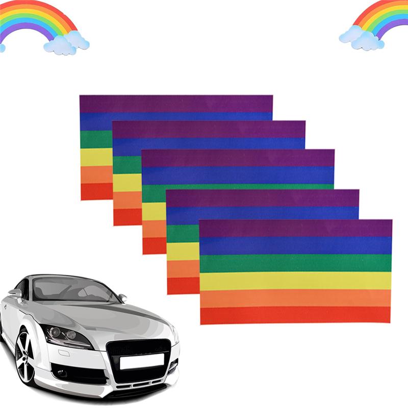 Rainbow Sticker Lesbian Gay Pride Lgbt Vinyl Window Laptop