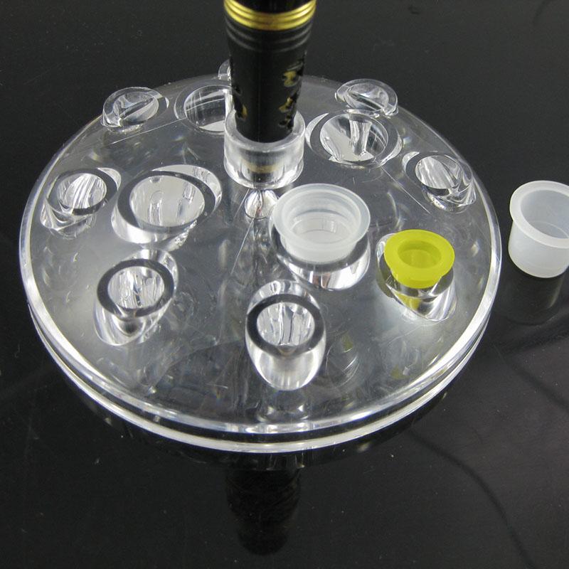 Neu Tattoo Farbe Kristall Rahmen Tattoo Maschine Rahmen Farbe Cup ...
