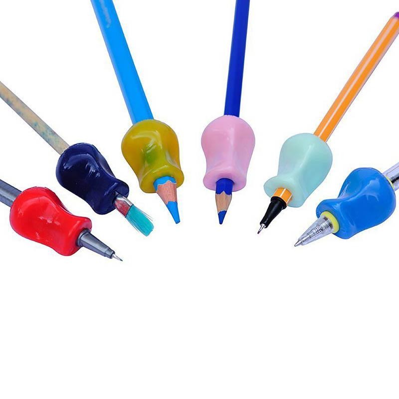 10Stk Kinder Bleistift Halter Pen Grip Writing Haltungs korrektur Werkzeug  DE