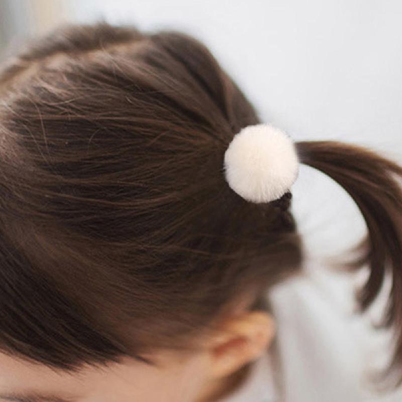 5x Women Girls Hair Band Ties Rope Ring Elastic Hairband Ponytail Hair HolderZP