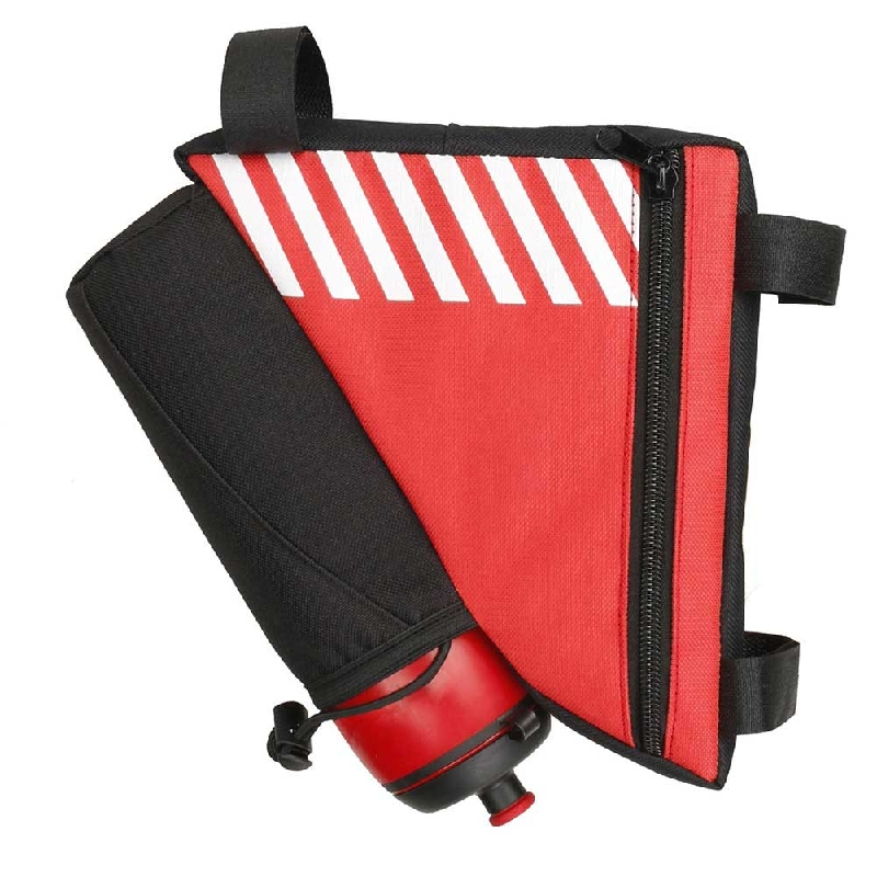 c438cb97ec Bike Accessories Bag Pouch for Bycicle Frame Pack Pannier Tube Front ...