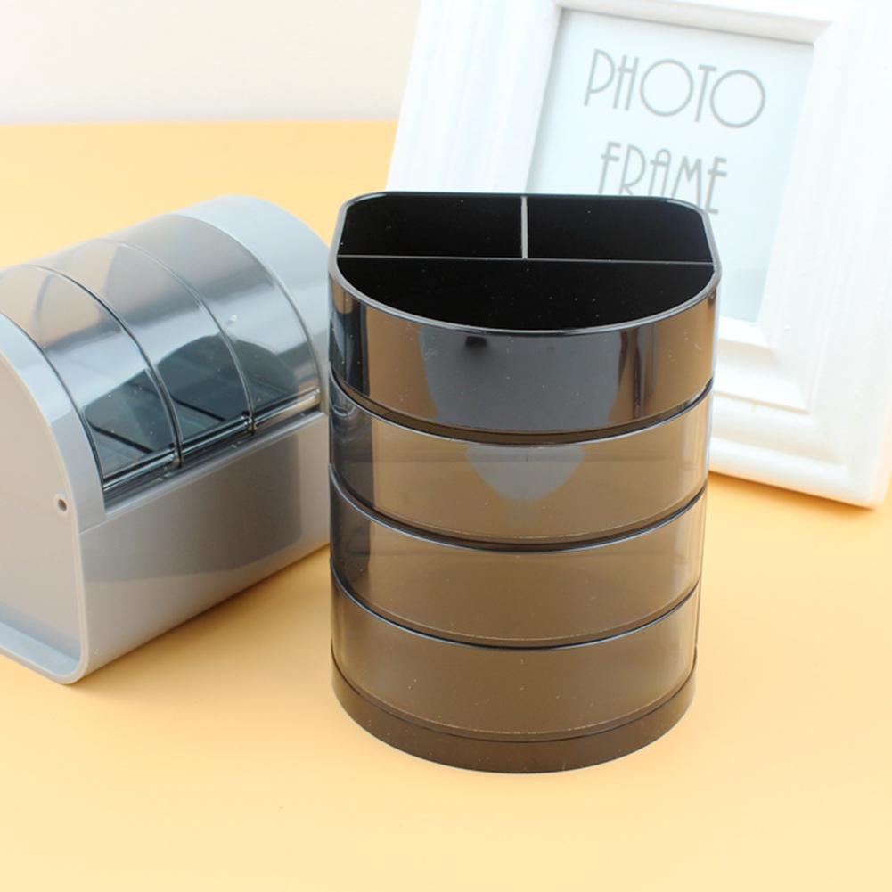 New Home Office Plastic Desk Tidy Stationery Pen Organiser