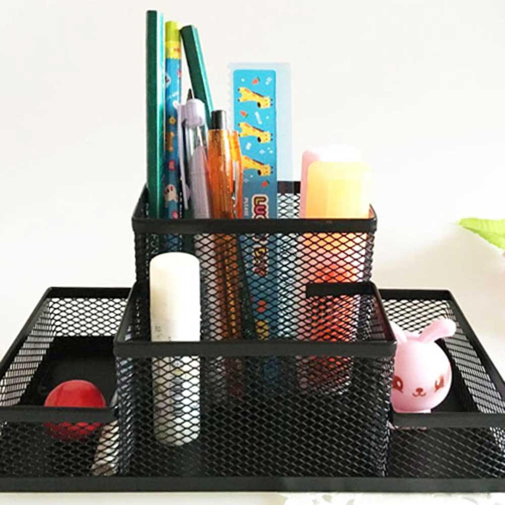 Multifunktion-Mesh-Schreibtisch Organizer Stifthalter Ablagefächer.Büro beliebt·