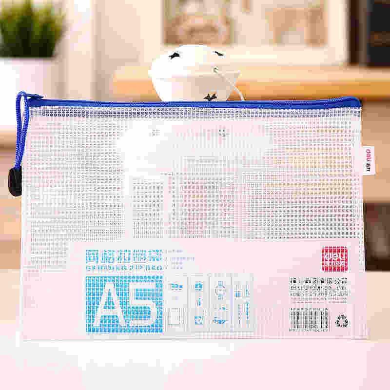 34cm x 23.5cm transparent gruen Gittermuster A4 Dokumentenmappe Aktenmappe J3B1