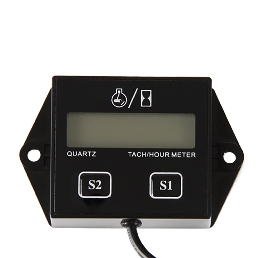 jjxx.com_Stundenzähler Drehzahlmesser Tachometer digital LCD ATV Motorrad Generato JJXX | eBay
