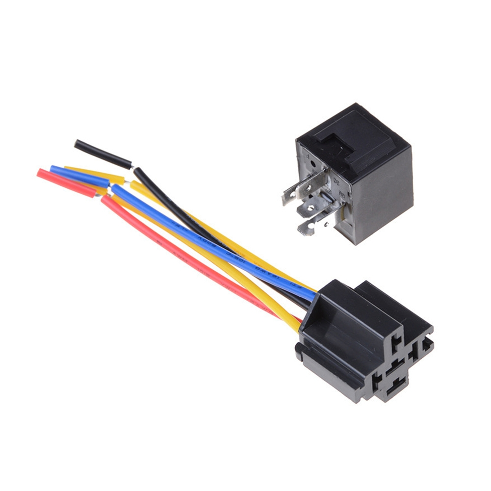 Waterproof Car Relay DC 12V 40A 5Pin Automotive Fuse Relay Normally Open-Useful*