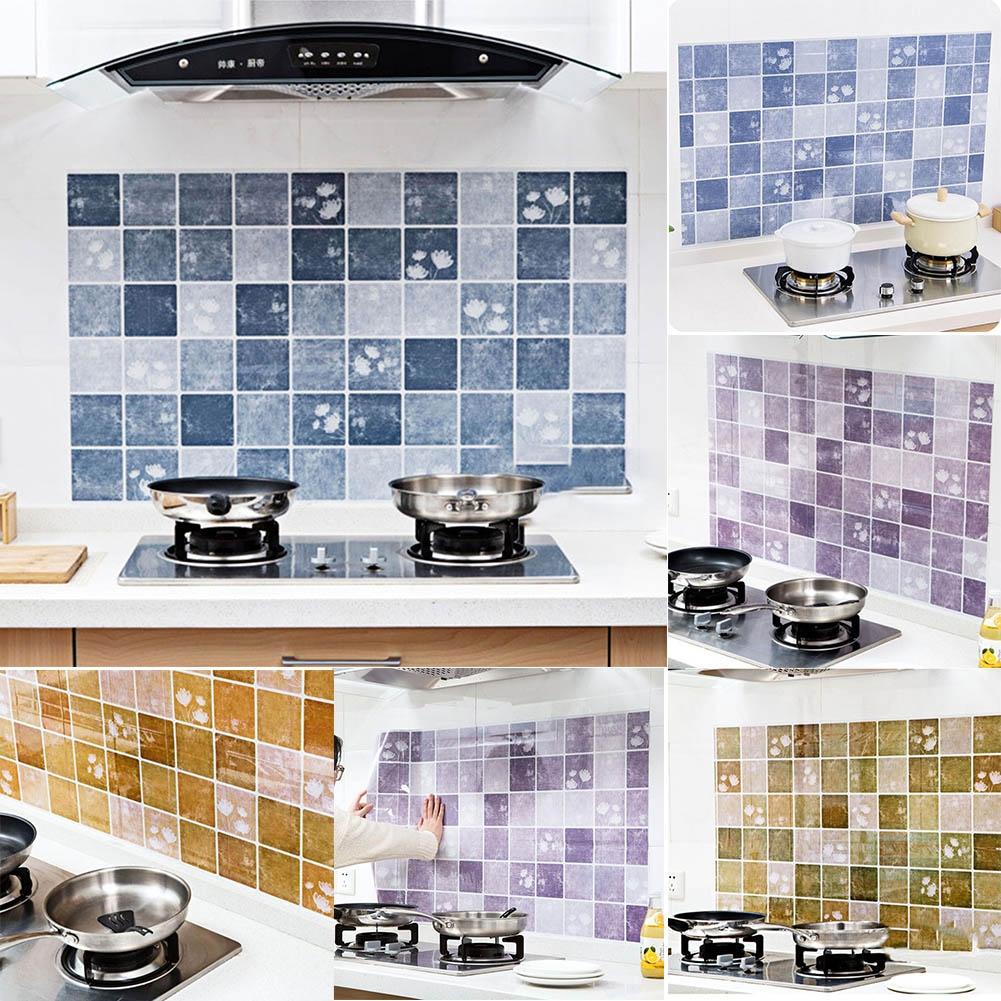 Küche Wand Papier Aufkleber selbstklebende Anti-Öl wasserdicht ...