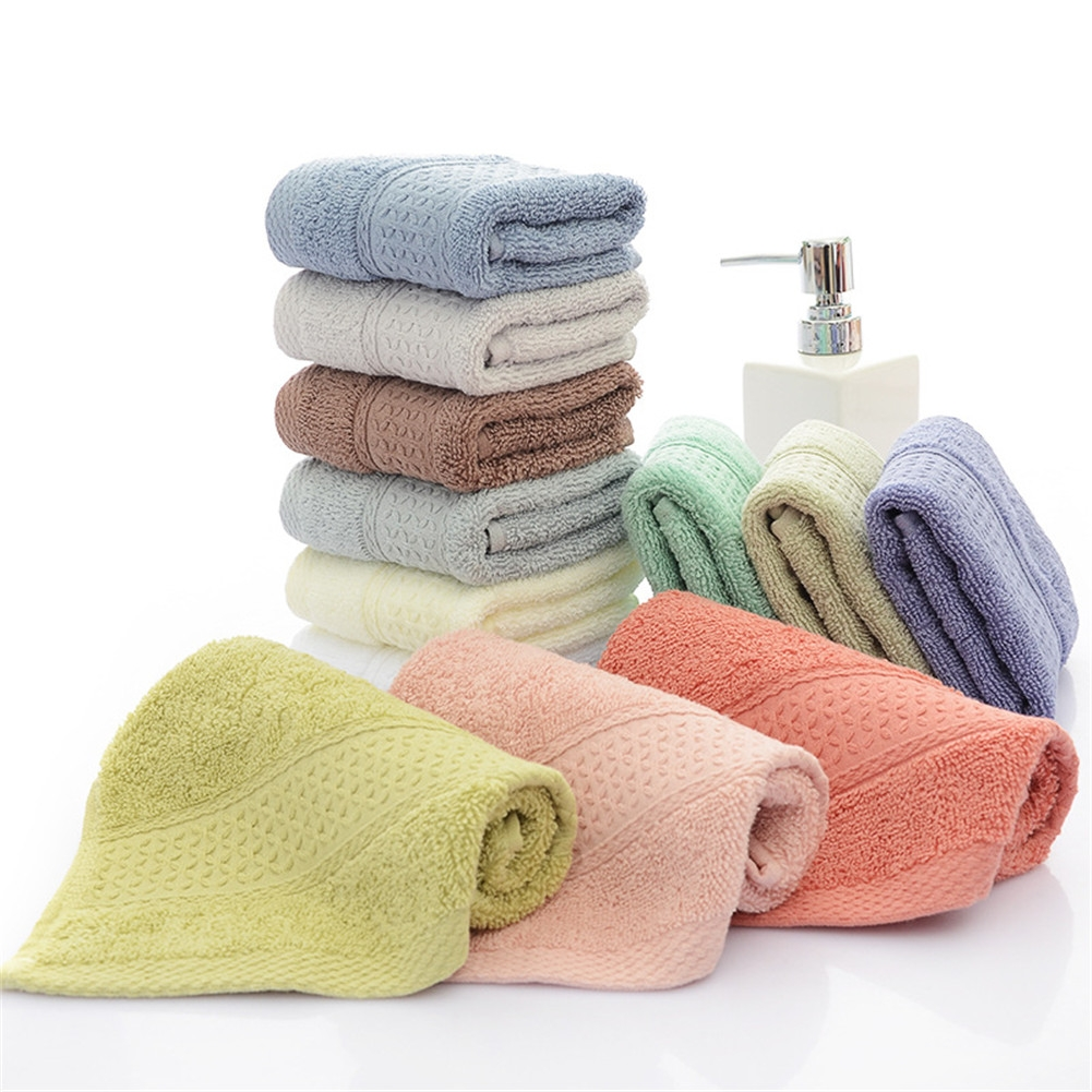 12 Pack 420 gsm Cotton Rich Face Cloths Towels Flannels Wash Cloth light GREEN