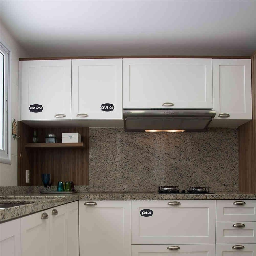 48 stk tafel aufkleber handwerk k che veranstalter etiketten tafel aufkleber ebay. Black Bedroom Furniture Sets. Home Design Ideas