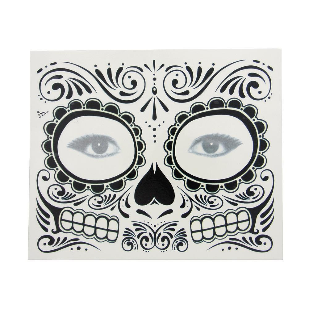 Luminous Cotton Mouth-muffle Fearful Skull Teeth Cosplay Half Face Mouth Mask