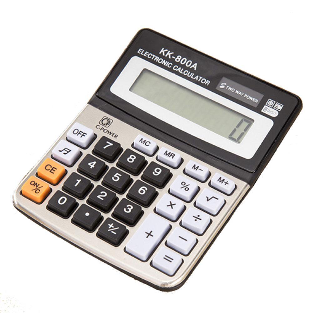 SlimSolar Taschenrechner Tischrechner Büro Rechenmaschine Rechner