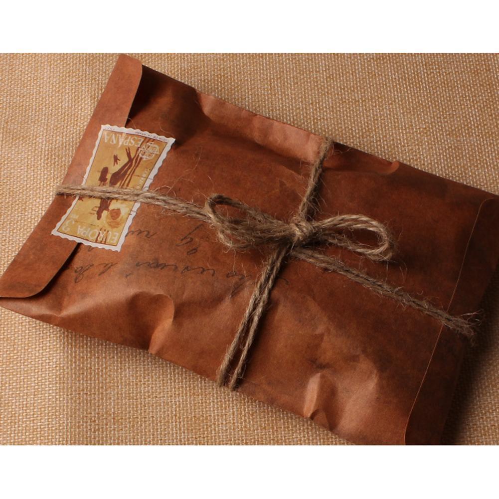 Craft UK 50 Stück Natur Stroh Bunt Umschlag C6//A6 6 X 6 5 X 7