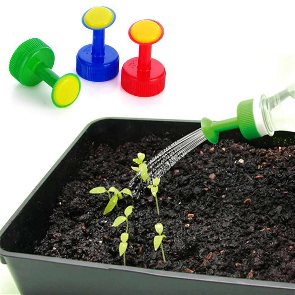 5Pcs Bottle Top Watering Garden Plant Sprinkler Water Seed Seedlings Irrigation