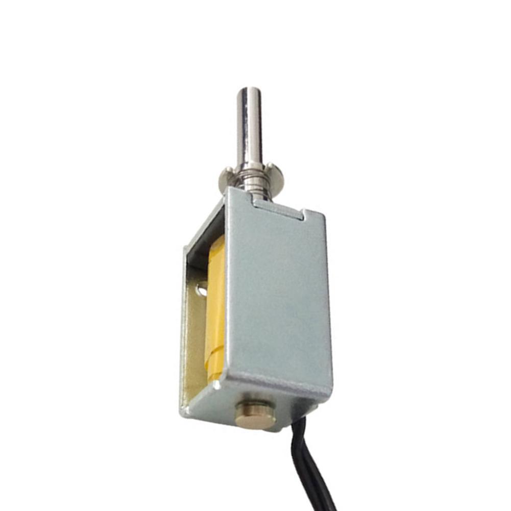 DC 4,5 V 40g 3mm Offenen Rahmen Betätiger Push Pull Elektromagnet