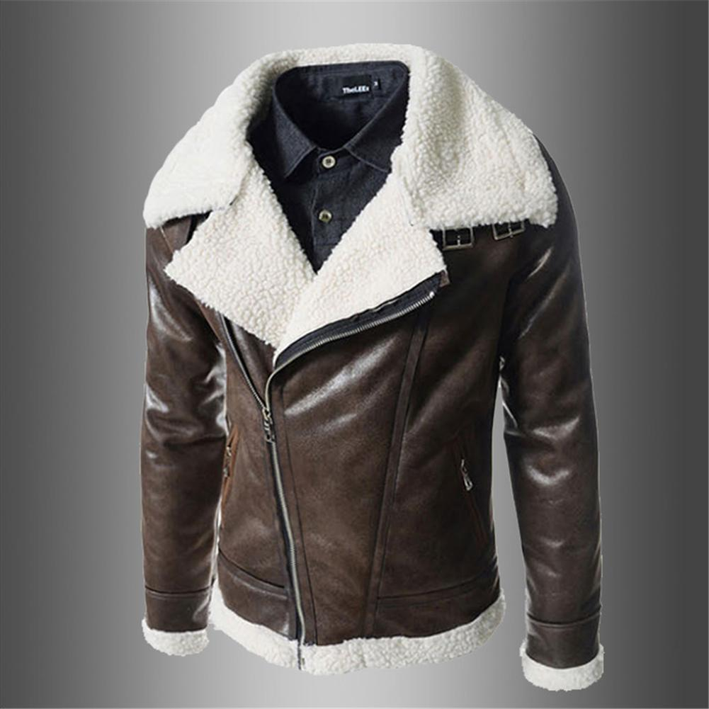 f5bc6cc78ebe4 Men Amp. 39.s Fashion Slim Collar Leather Jacket Lambskin Men Amp. 39.s Leather  Coat