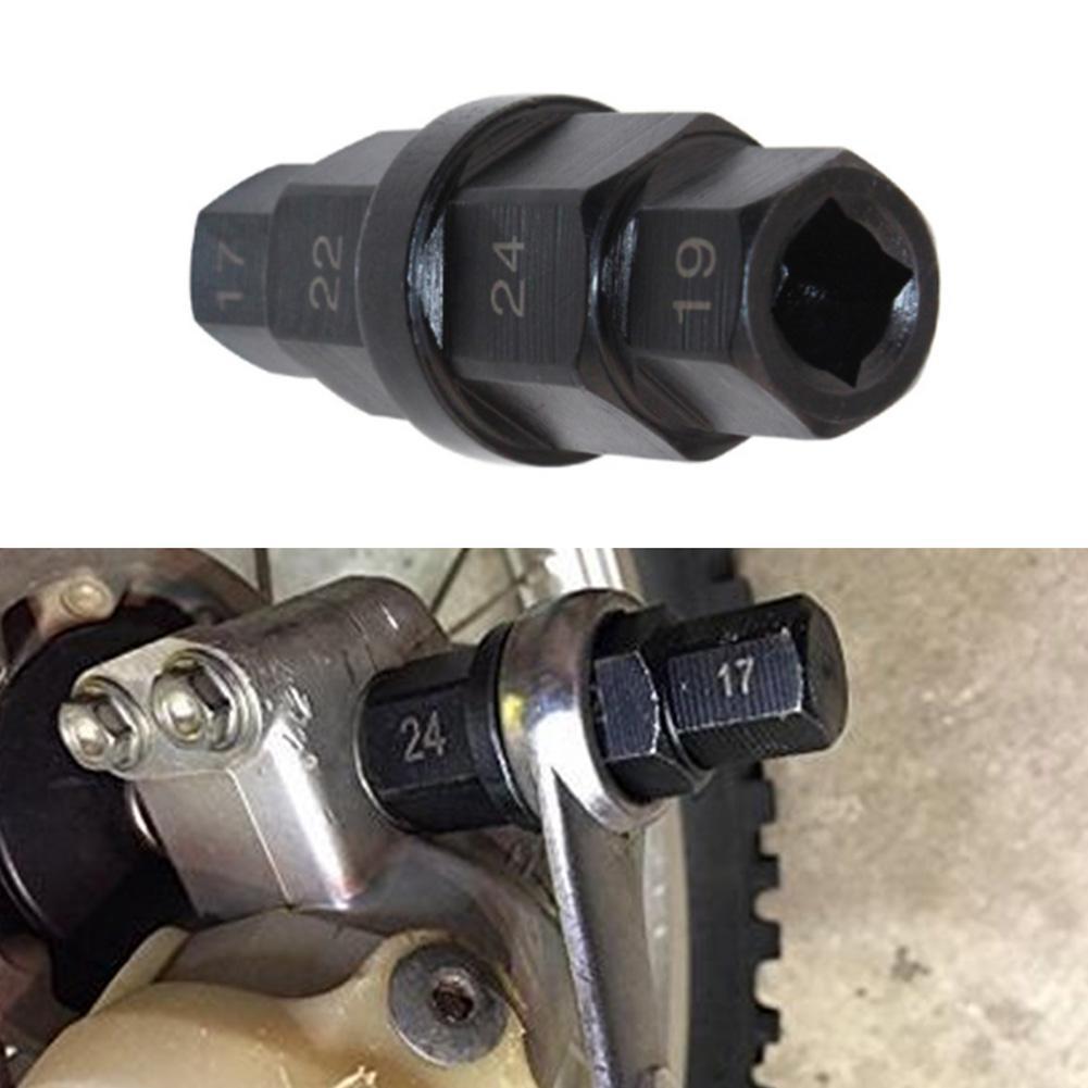 Spindel Entfernung Werkzeug für Honda//Kawasaki//Suzuki Motorrad 17//19//22//