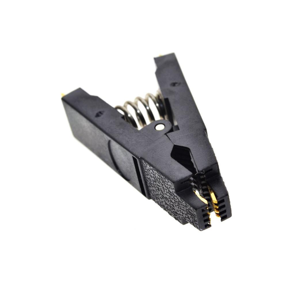 SOIC8 SOP8 Chip IC Test Clips Socket Adpter BIOS grammer J7F8