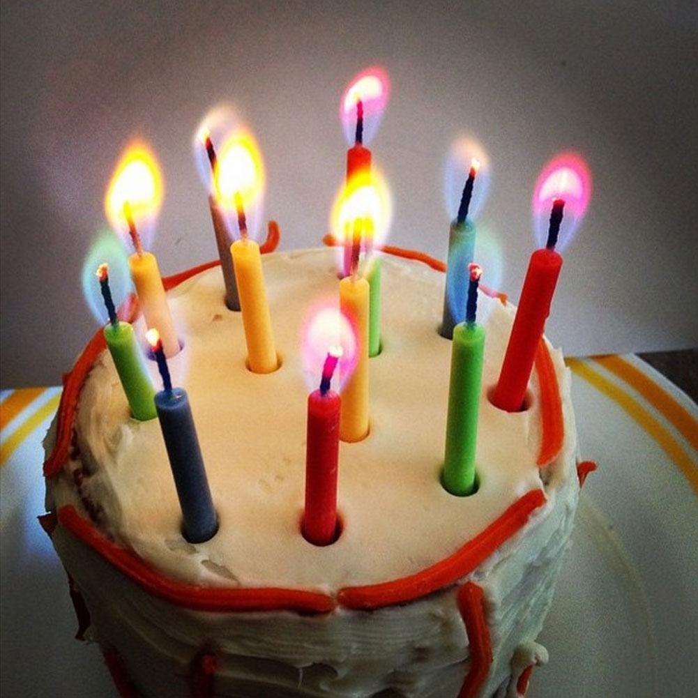 Details About Cake Angel Flame Magic Candles Birthday Party Celebration Creative
