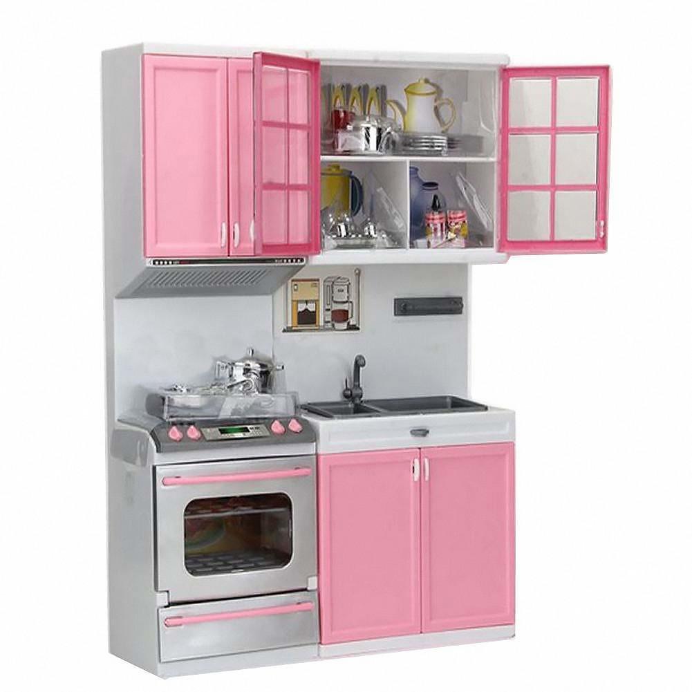 rosa kleine Kinder spielen Küche-vorgeben Set Spielzeug Kochen ...