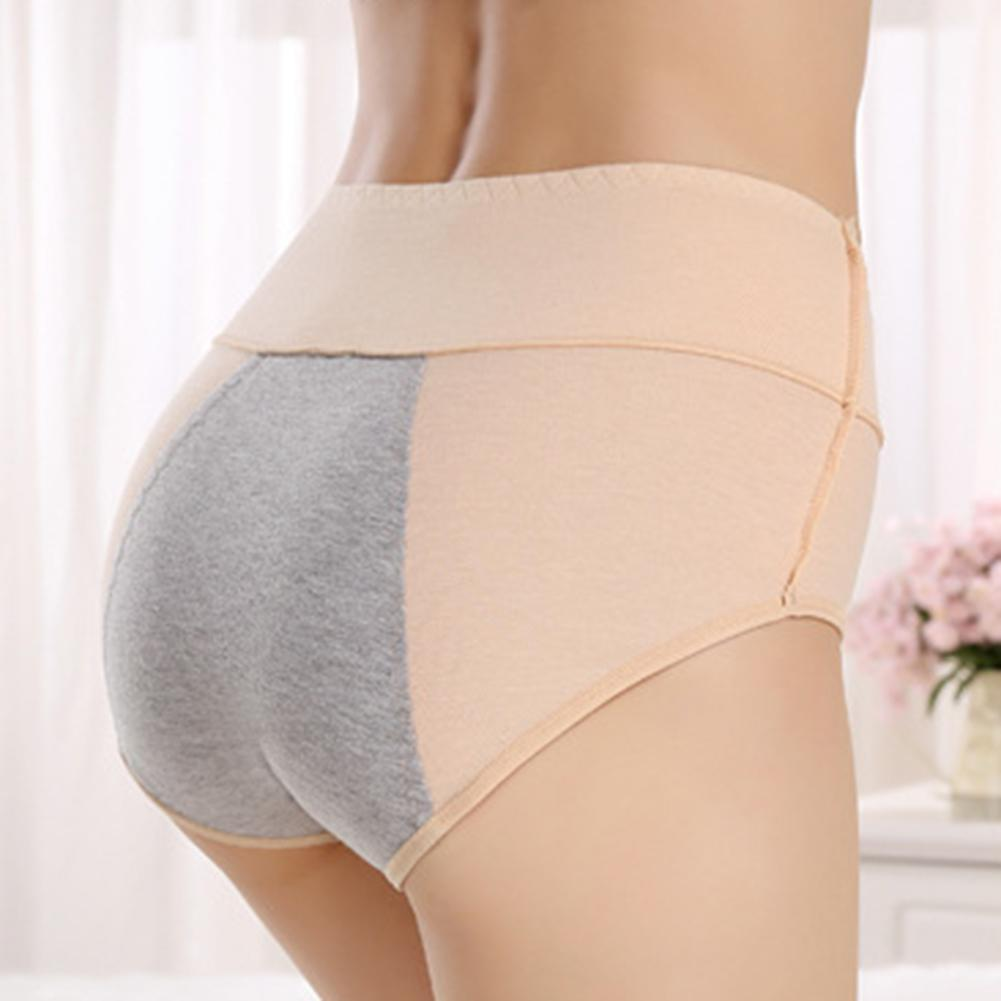 Frauen Anti-Side-Leakage Panties Menstruation Physiological Briefs Knickers O0V4