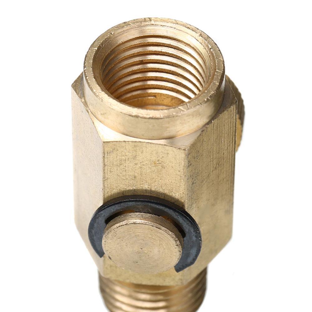 1//4 /'/' NPT Inline Regulator Messing Druckluftventil Werkzeug