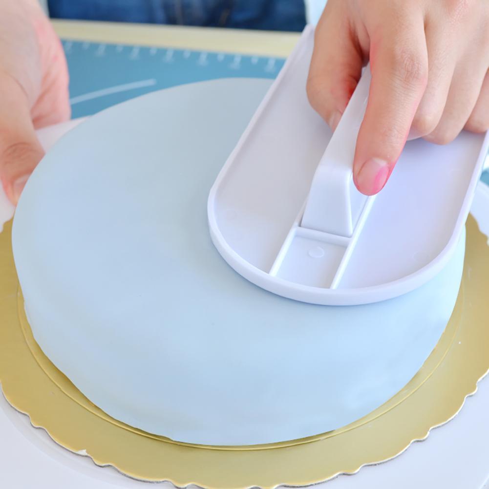 Gebäck Spatel Für Kuchen Teig Icing Fondant Schaber Creme  Kuchen Glättung Gerät
