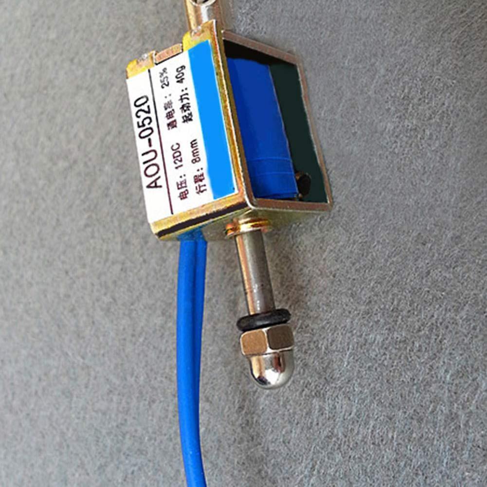 HCNE1-0530 DC 12 V 10mm Hub Push Pull Typ Offenen Rahmen Solenoid ZP