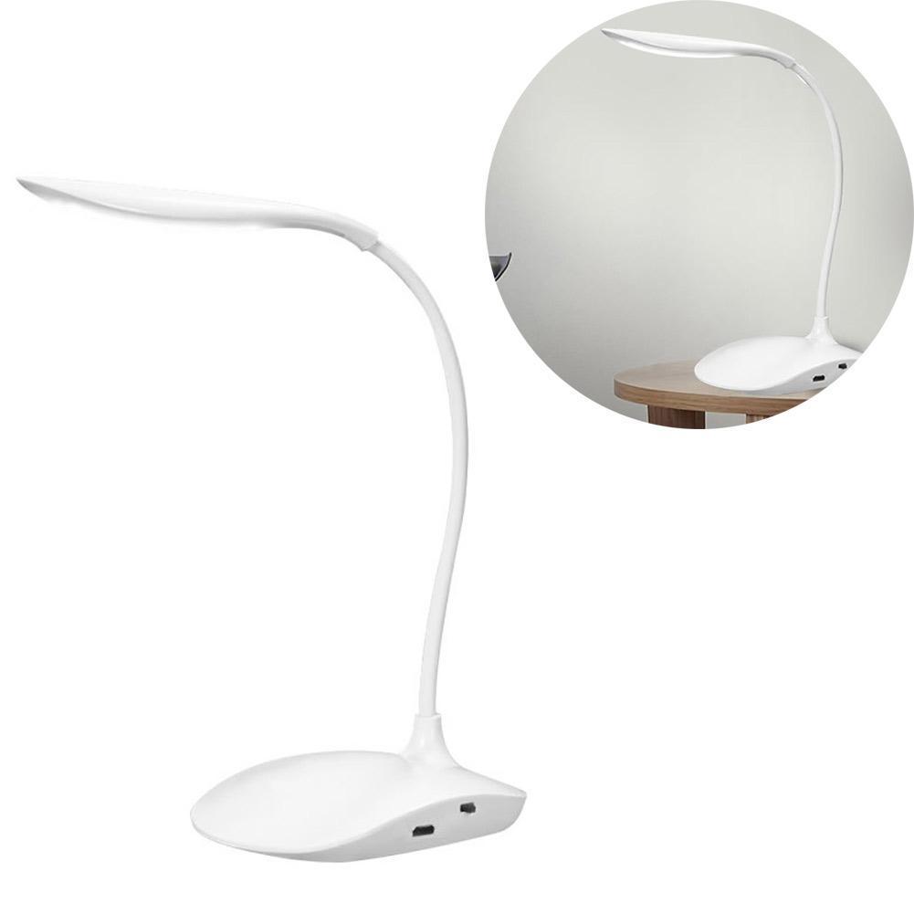 Schreibtischlampe LED Tischlampe Dimmbar USB Tischleuchte Leselampe ...