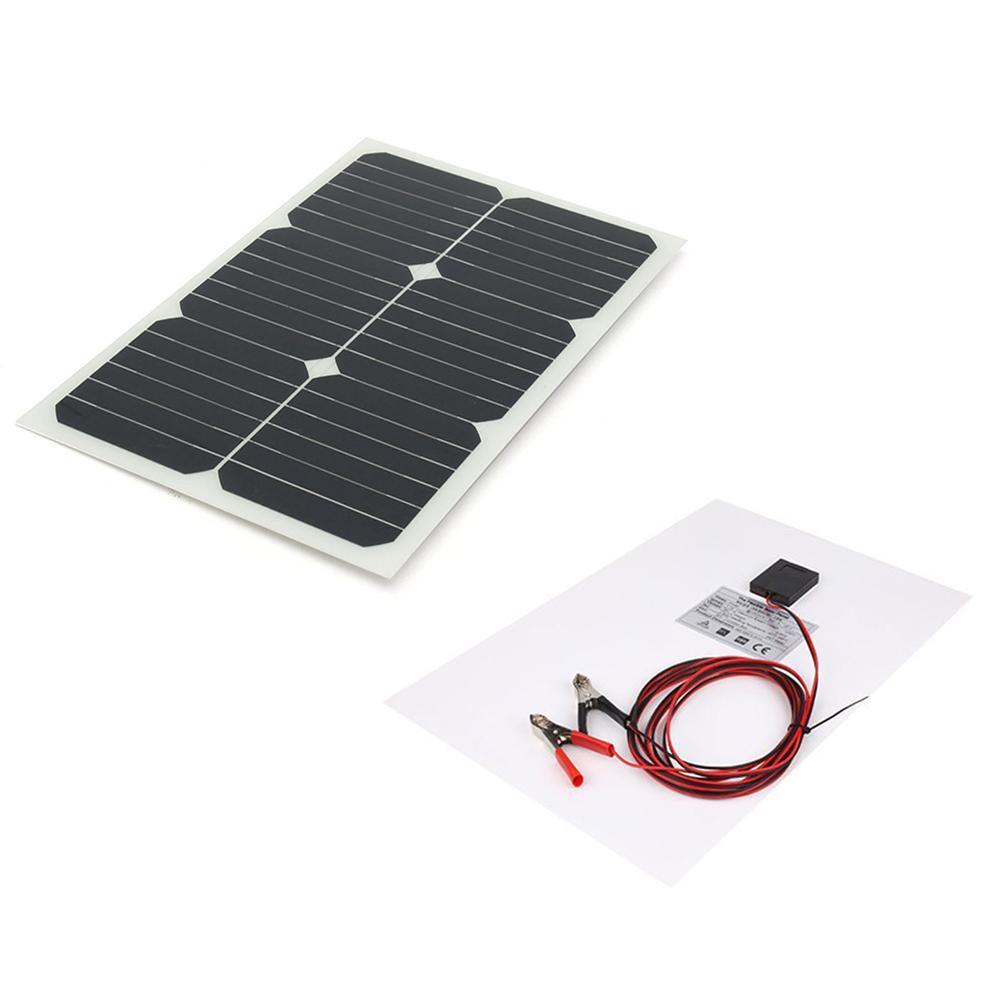 20w 18v Elfeland Semi Flexible Solar Panel For Rv Caravan