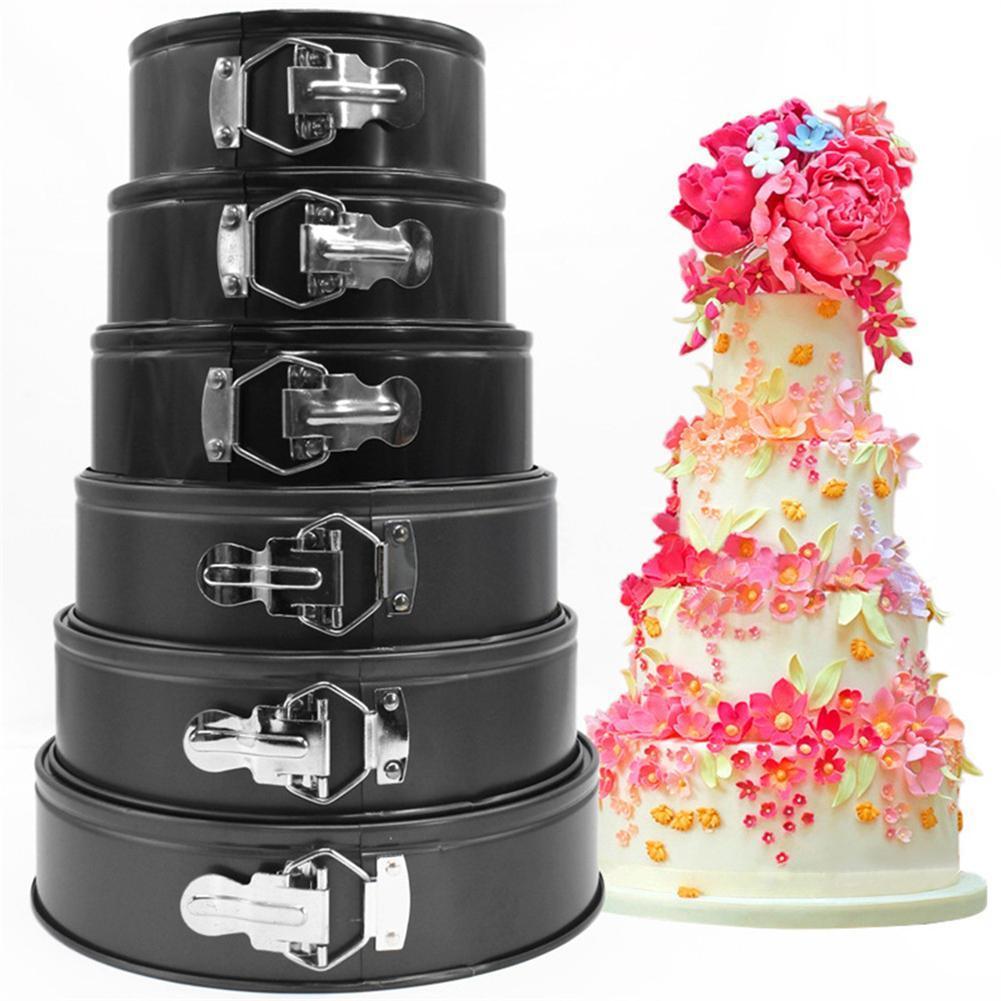 Amazing Round Non Stick Tins Bakeware Springform Tray Cake Pan Birthday Personalised Birthday Cards Cominlily Jamesorg