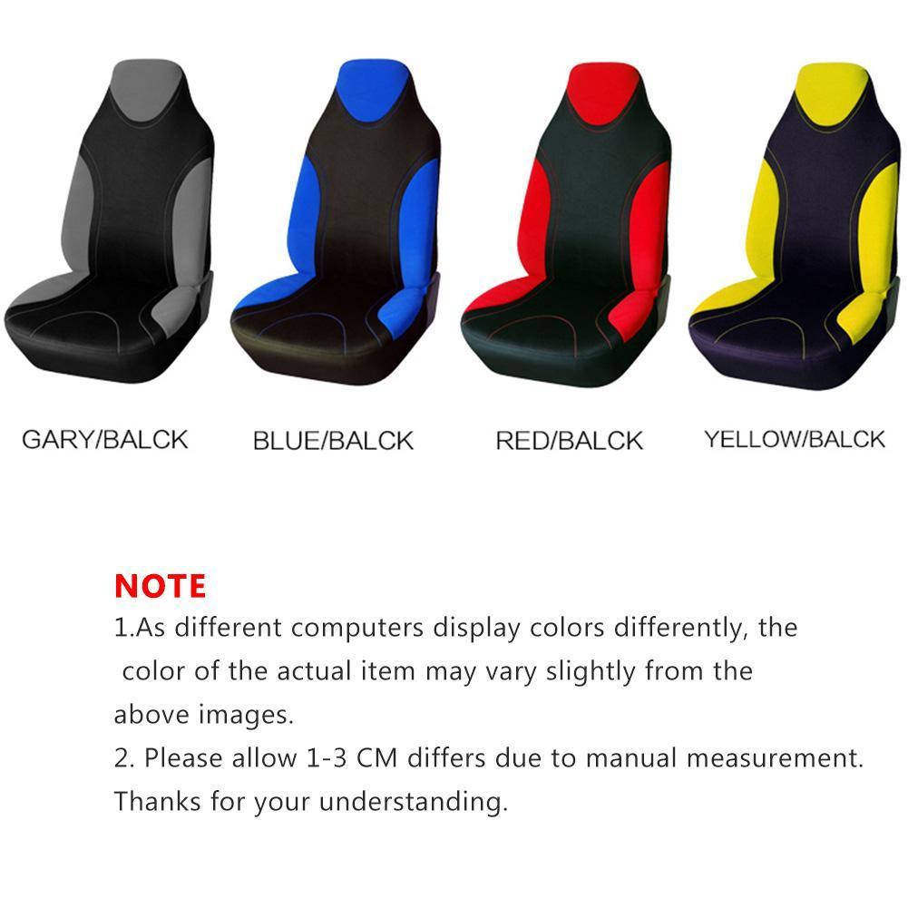 Sitzbezug Schonbezüge Autositzbezug Sitzbezüge Einteilig Grau Gelb Rot Blau Neu