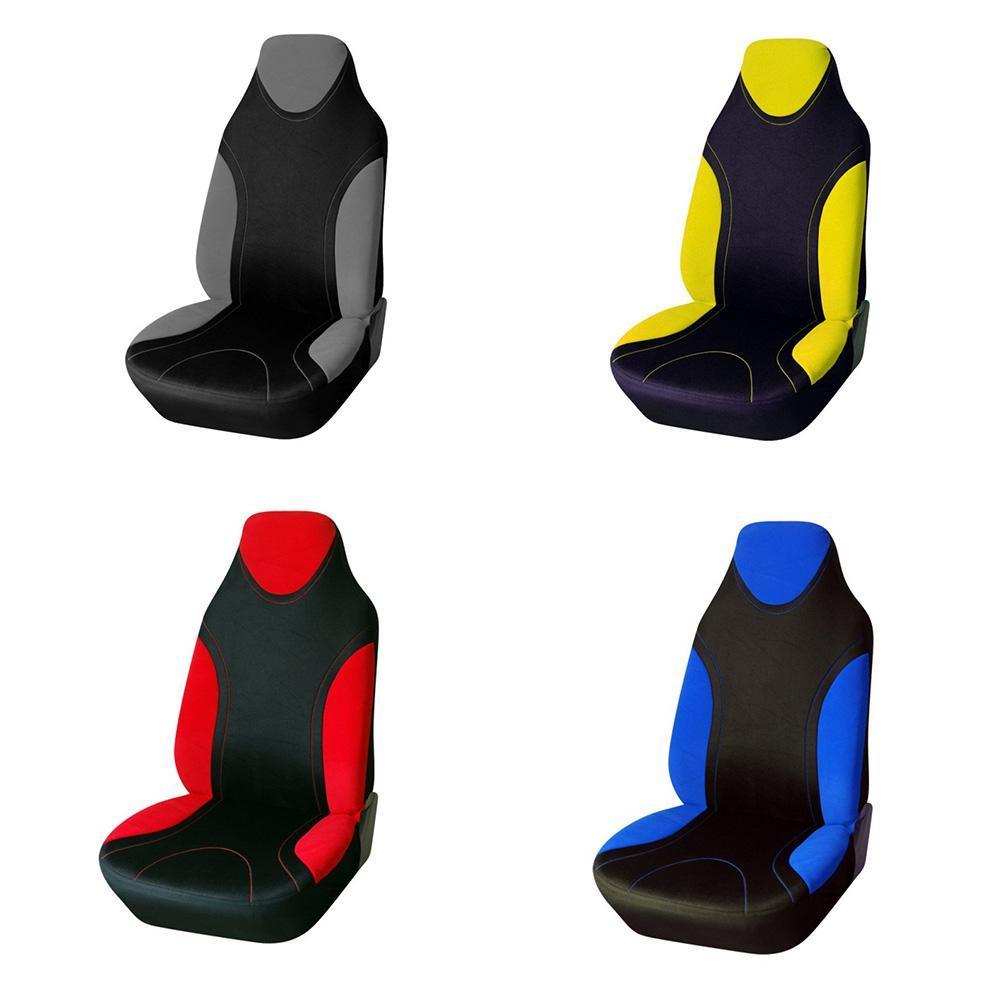 Sitzbezug Schonbezüge Autositzbezug Sitzbezüge-Einteilig Grau Gelb Rot-Blau R6I5