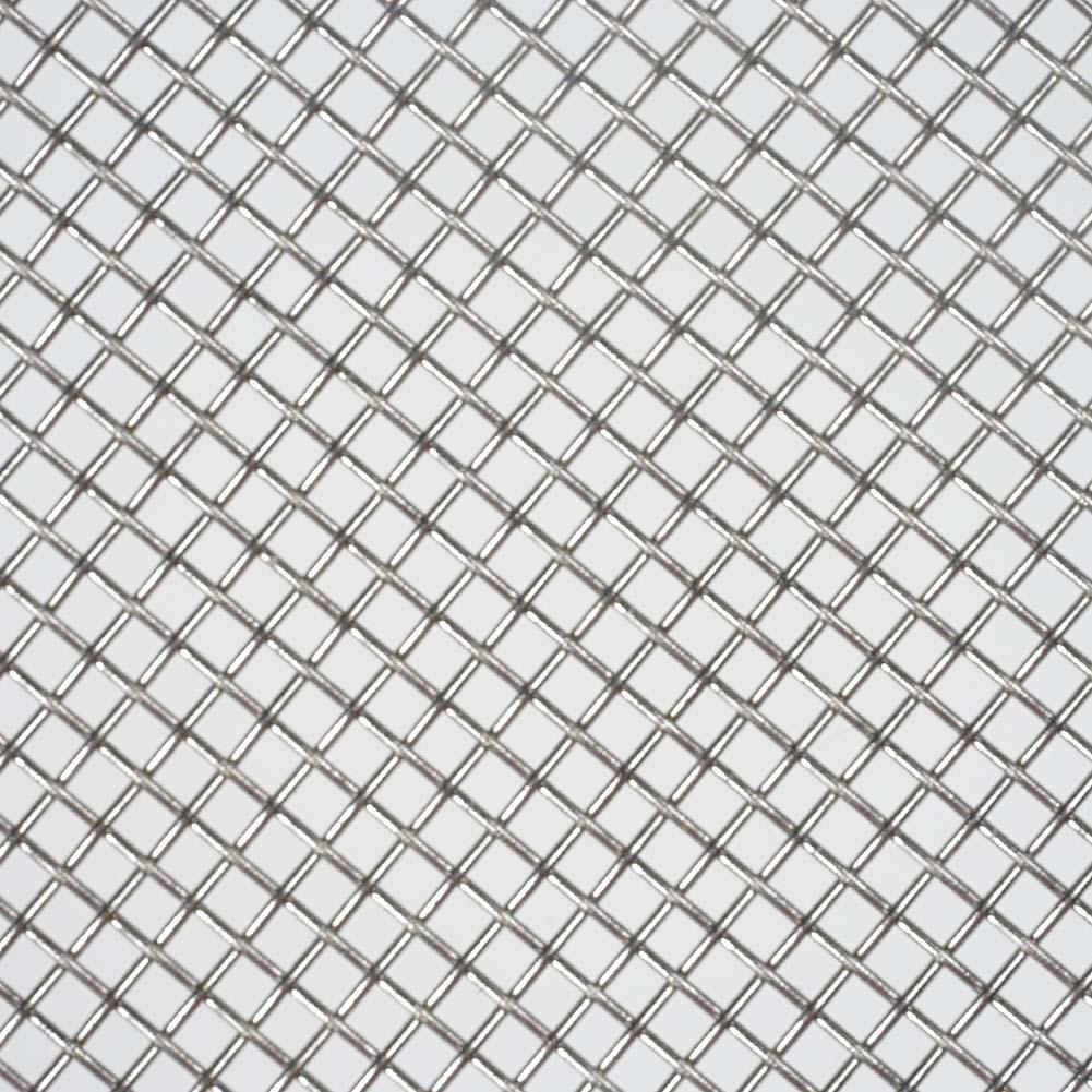 5/20Pc Aquarium Fish Tank Stainless Steel 8x8cm Wire Mesh Pad Plants ...