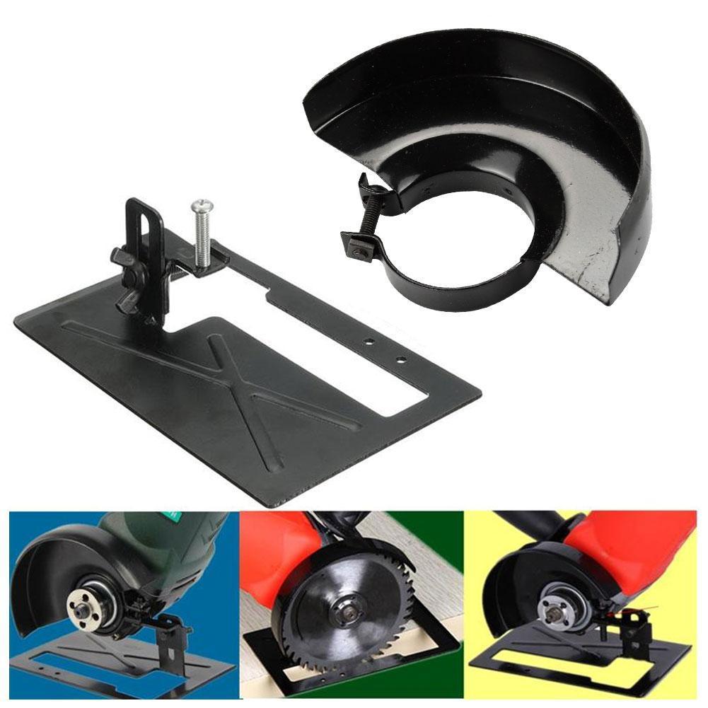 Winkelschleifer Schneidemaschine Halter Metall Schutzschild Conversion Tool