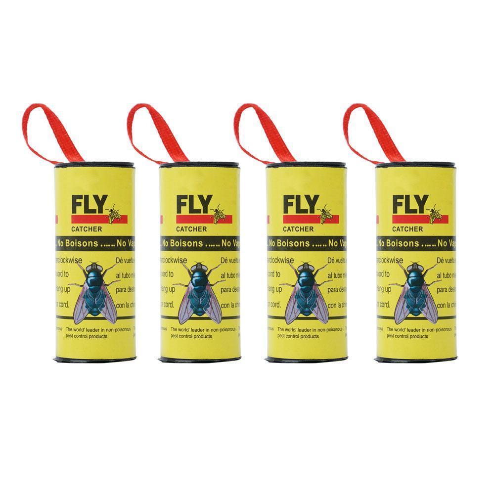Fly paper ribbon fly sticky trap  pack of 4//5//10 insect catcher// fly catcher