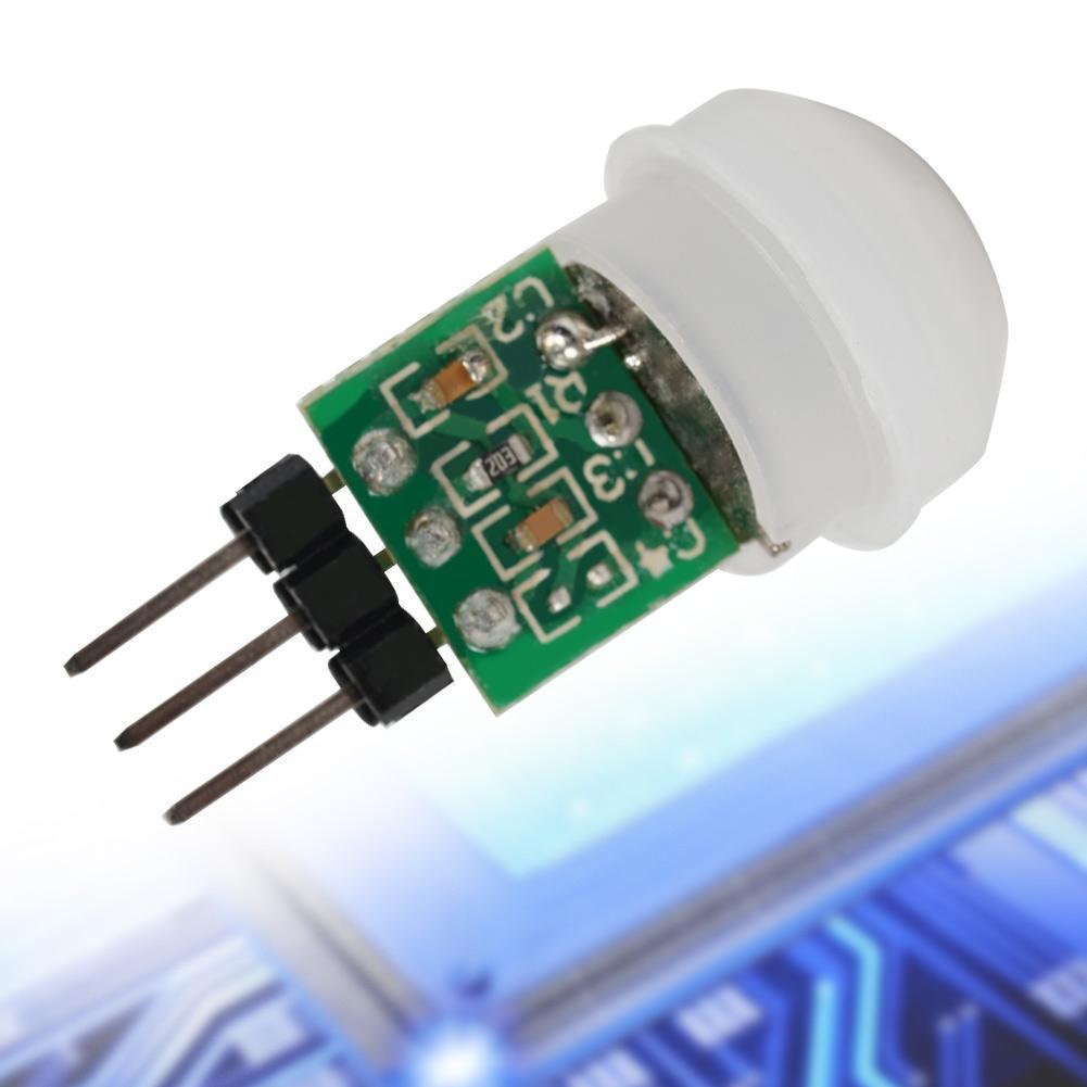 1x New DC 2.7-12V AM312 IR Infrared Mini Body Motion Pir Human Sensor Detector