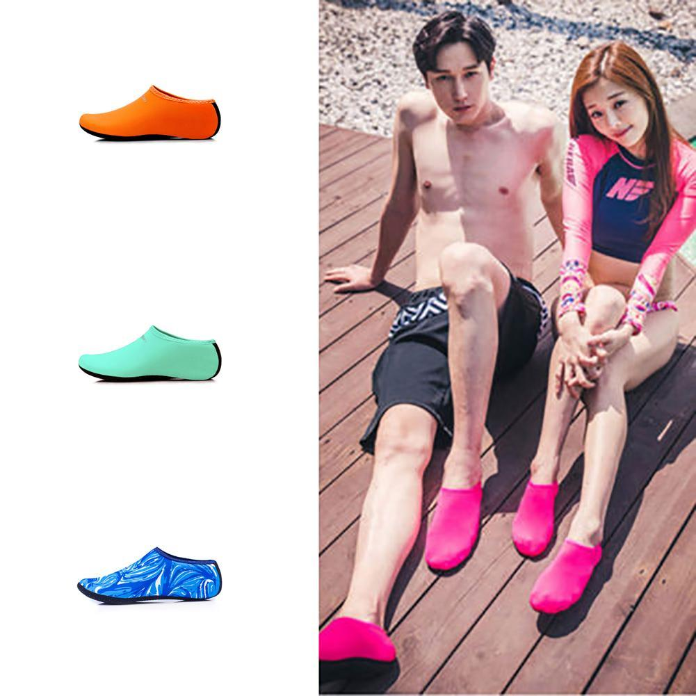 1dd00ee2c493 Details about Kids Women Men Skin Water Shoes Yoga Swim On Surf Slip  Exercise Pool Beach Socks