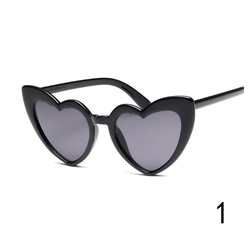 8b05e4a2bd1 Women Lovely Heart Sunglasses Cat Eye Retro Gift Heart Shape Sun Glasses  UV400