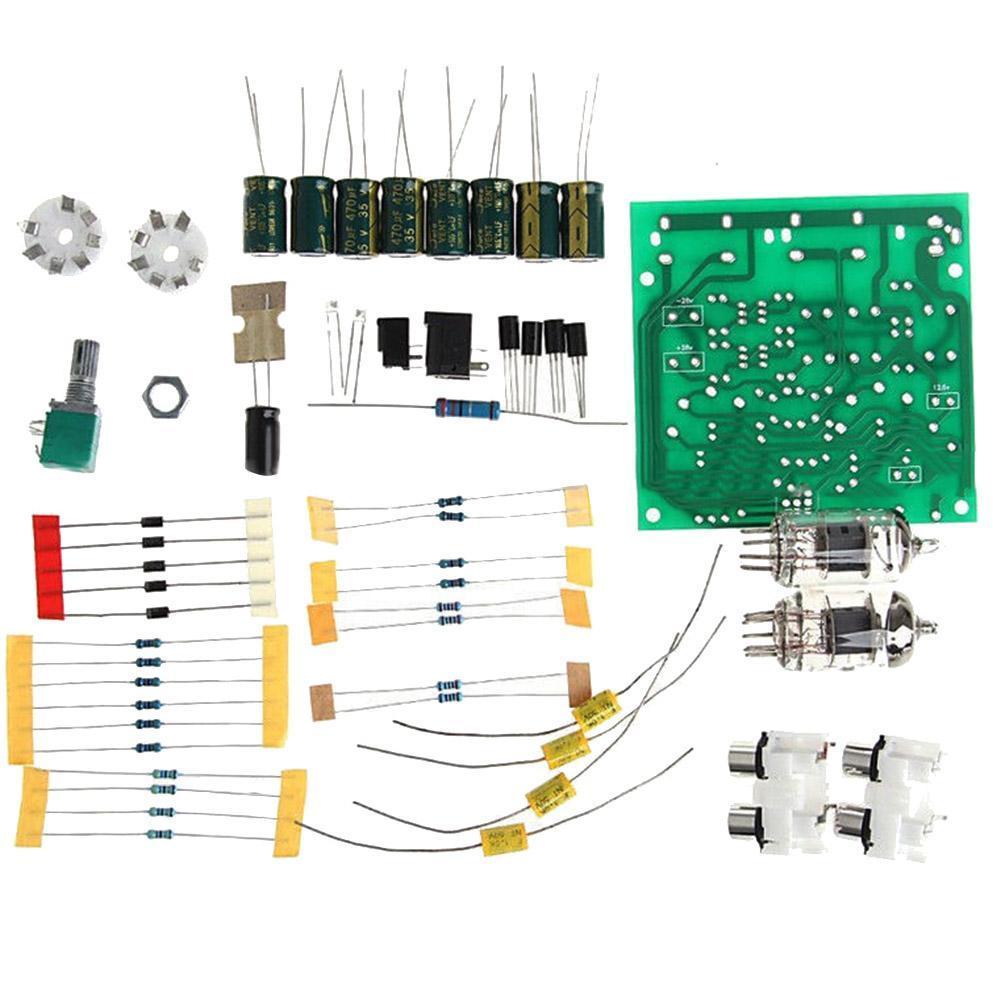 6j1 Valve Pre Amp Tube Board Headphone Amplifier Acrylic Case Kits Vacuum Circuit Diagram Preview