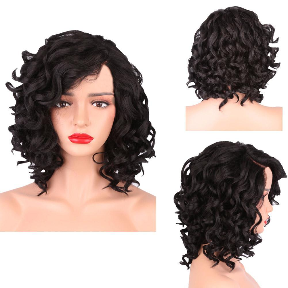 Best Short Curly Wig Glueless Indian Remy