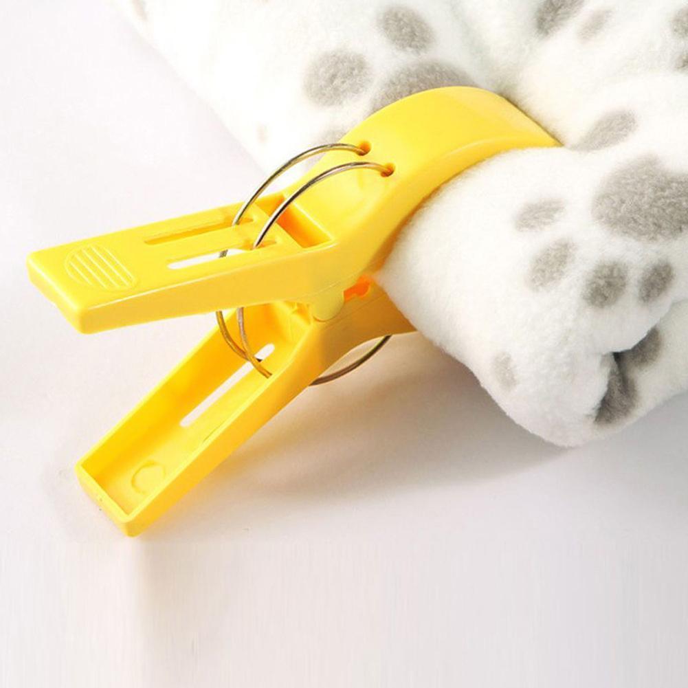 4Stk Big Beach Wäsche Towel Waschen Hängen Clips Pegs Frühling Kleidung Pin X7S4