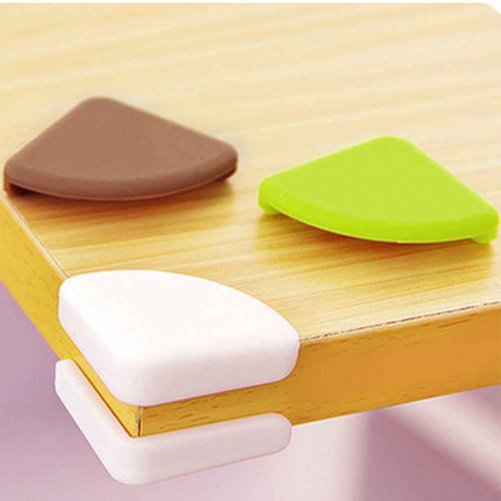 4pcs Baby Glas Schreibtisch Tisch Kantenschutz Kissen Schutz Stoßstange