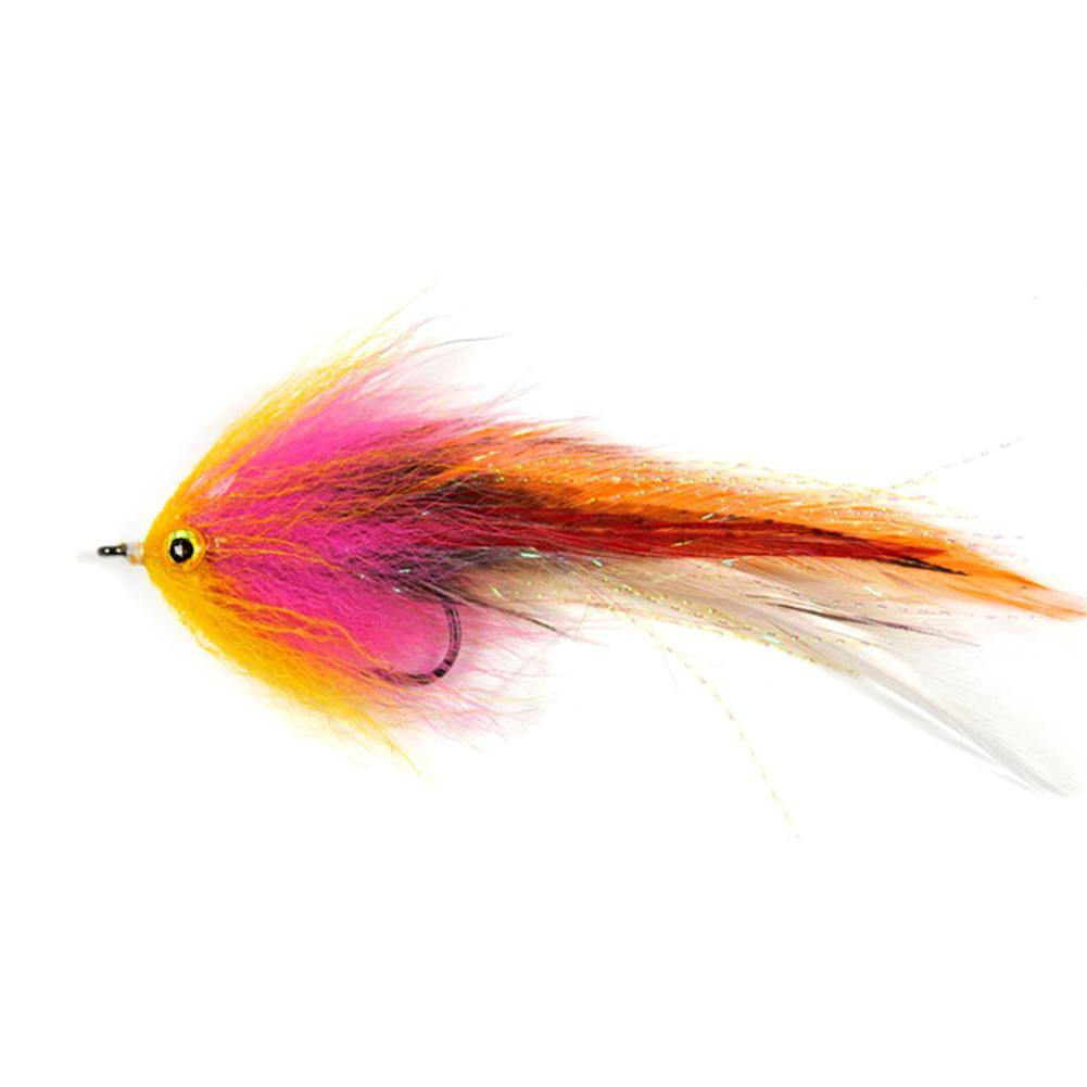 "6/"" HOOK TUBE Trout Salmon Steelhead Pike Fly Fishing Streamer Flies Saltwater"