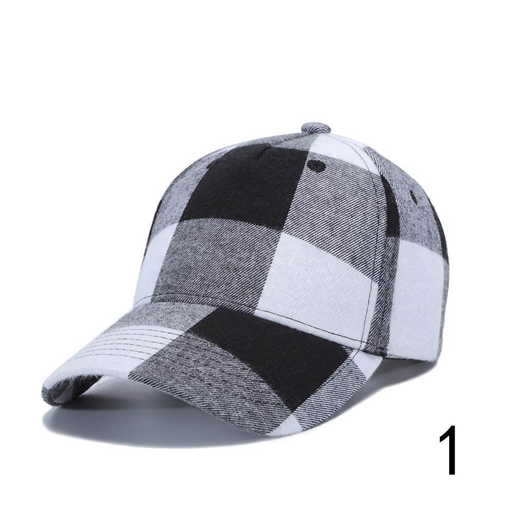 Unisex Classic Casual Lattice Cap Cotton Casquette Baseball Cap Adjustable  Strapback Golf Sun Hats 72126ce4cd2d