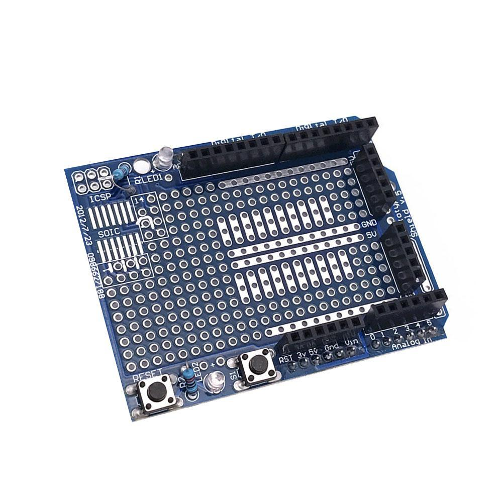 Prototype Mit Mini Shield Newtoshield V3 Breadboard For Arduino Uno Gallery Power Supply Diy Kit Buildcircuit Preview