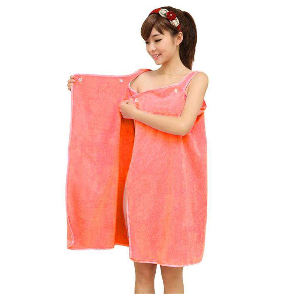 849f6fa85b Bath Towels Skirt Lady Girls Wearable Fast Drying Magic Bath Beach ...