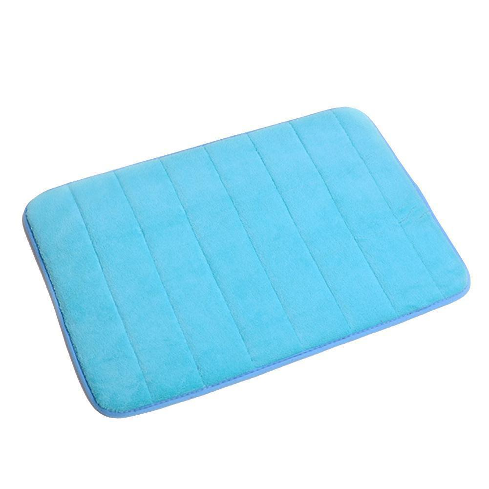 Memory Foam Mat Anti Slip Water Up Pad Bathroom Shower Rug