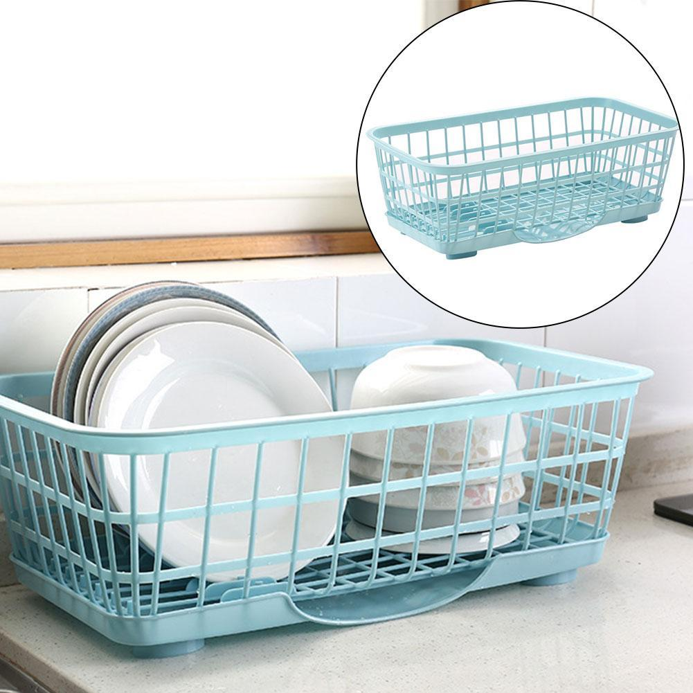 Kitchen Sink Dish Plate Drainer Drying Rack Washing Organizer Tray ...